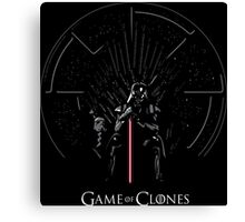 Game Of Clones Canvas Print