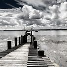 Wharf at Southend on Sea, Essex, England by Sheila  Smart
