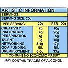 Artistic Information Chart by nofrillsart