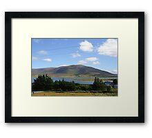 Rolling hills. Framed Print