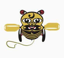 Hei Tiki Bee Toy Kids Tee