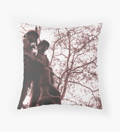 Brothers in arms Throw Pillow