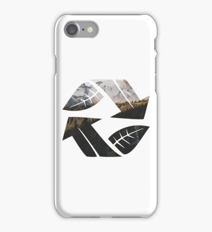 Reduce. Reuse. Replant. iPhone Case/Skin