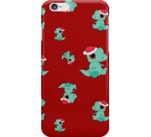 Christmas Dinosaur iPhone Case/Skin