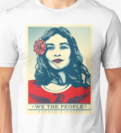 We the people- defend dignity Unisex T-Shirt