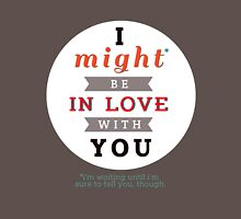 "Divergent: ""I might be in love with you."" Unisex T-Shirt"