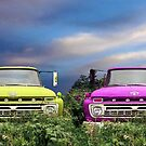 Colorful Trucks by Joerg Schlagheck
