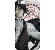 Black Butler: Sebastian iPhone Case/Skin