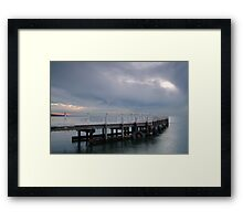 Pt Richards Jetty, Portarlington Framed Print