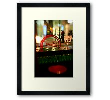 Awaiting Caffeine Fix Framed Print