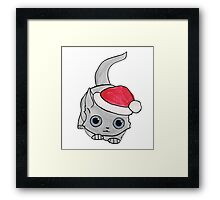 Christmas Cat Framed Print