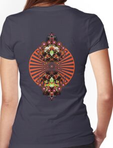 PSYCHEDELIC SHINE Womens Fitted T-Shirt