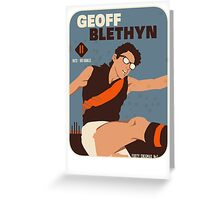 Geoff Blethyn, Essendon Greeting Card