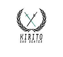 Sword Art Online: Kirito the SAO Beater Photographic Print