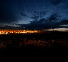 Simpson Desert early morning by Mark Williamson