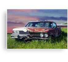 Time Warp Car Canvas Print