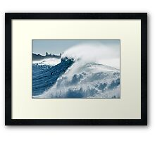 It all comes out in the wash Framed Print