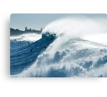 It all comes out in the wash Canvas Print