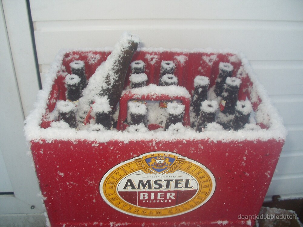 this is what you call a cold beer... by daantjedubbledutch