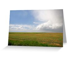 Storm on the Prairies Greeting Card