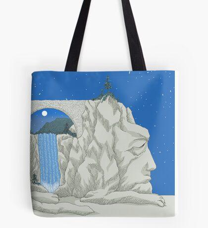 Patience Stone Lion Tote Bag