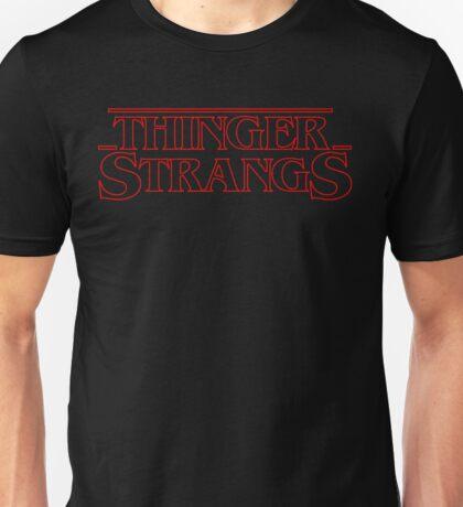 Thinger Strangs [Black] Unisex T-Shirt