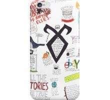 The Mortal Instruments collage iPhone Case/Skin