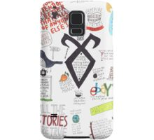 The Mortal Instruments collage Samsung Galaxy Case/Skin