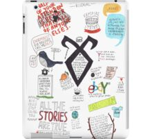 The Mortal Instruments collage iPad Case/Skin