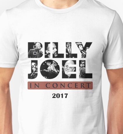 Billy Joel In Concert 2017 Unisex T-Shirt