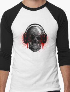 Ear Bleeding! Men's Baseball ¾ T-Shirt