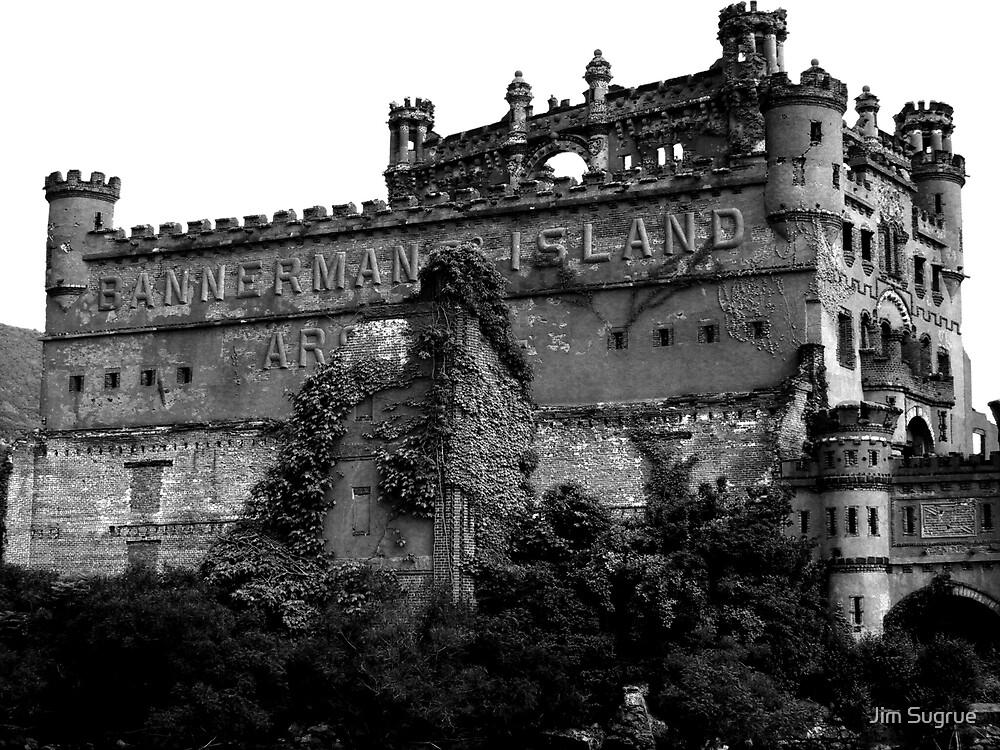 """""""Bannermans Castle"""" by Jim Sugrue"""
