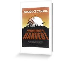 Boards of Canada - Tomorrow's Harvest Movie Poster Greeting Card