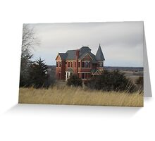 The House in March Greeting Card