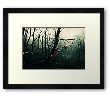 Creepy Christmas Framed Print