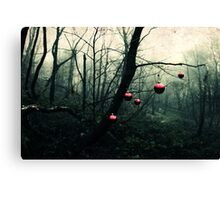 Creepy Christmas Canvas Print