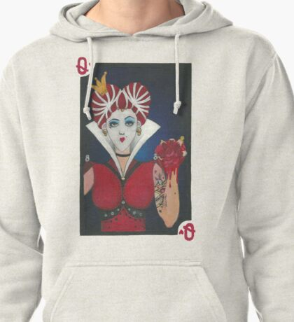 The Red Queen Pullover Hoodie