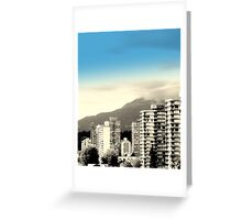 West End - Vancouver BC Canada Greeting Card