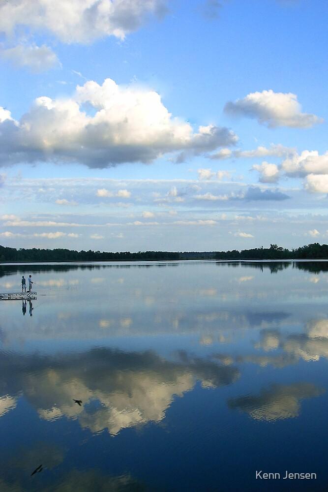 Minnesota Lake by Kenn Jensen