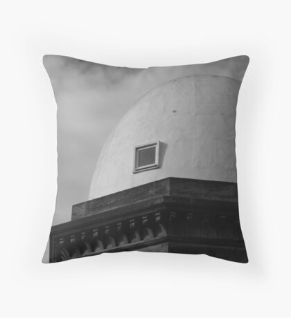 Observe the Dome Throw Pillow