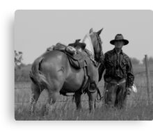 Trail Boss Canvas Print