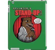 Splinter's Stand-Up Tour iPad Case/Skin