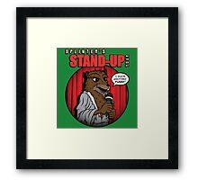 Splinter's Stand-Up Tour Framed Print