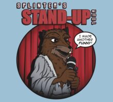 Splinter's Stand-Up Tour Baby Tee