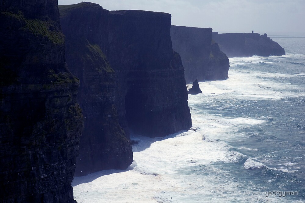 cliffs of moher by georgyman