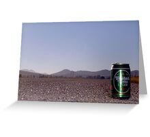 Drinking and driving? Greeting Card