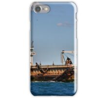 The David Allan Suction Dredge - Newcastle Harbour NSW iPhone Case/Skin