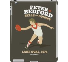 Peter Bedford, South Melbourne iPad Case/Skin