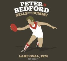 Peter Bedford, South Melbourne by Chris Rees