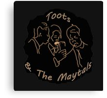 Toots and the Maytals (Re-issued) Canvas Print